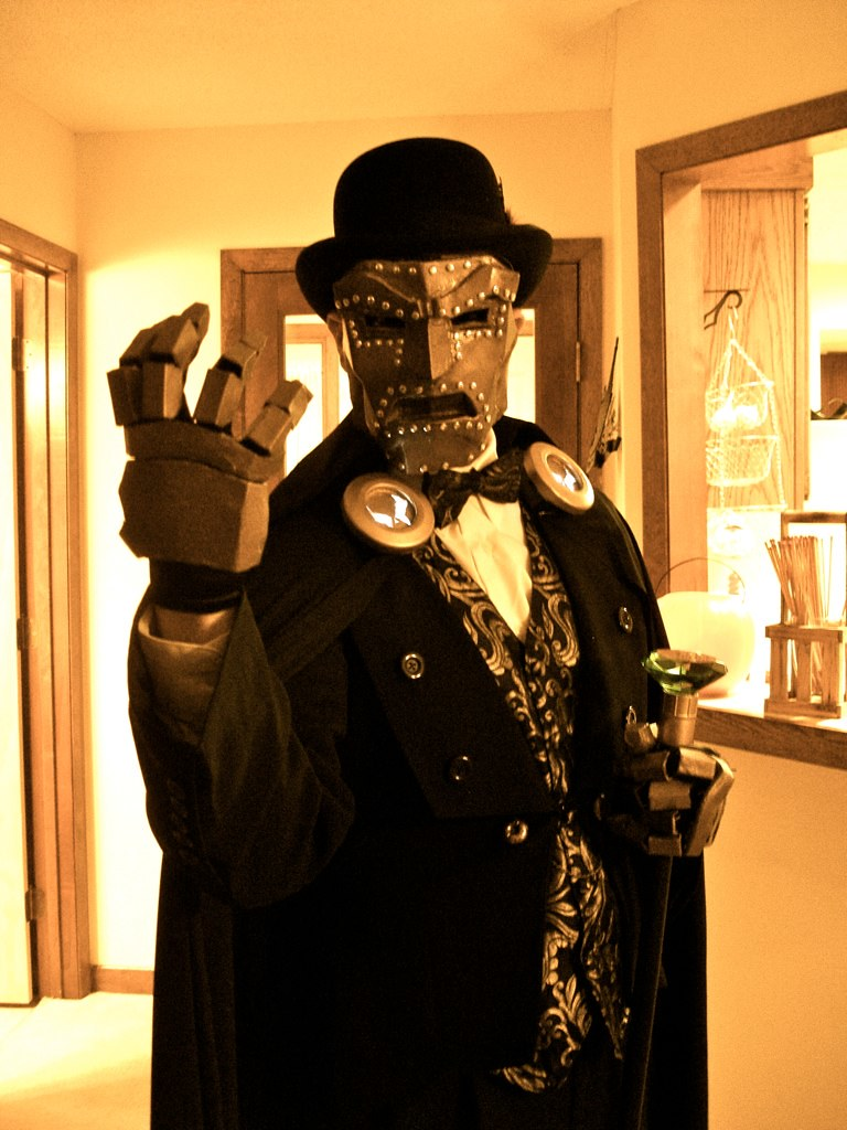 Ghost Costume Party: Steampunk Dr. Doom (Eric) | He made the… | Flickr