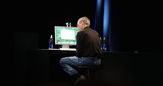 Steve Jobs Demoes Quick Look | by acaben