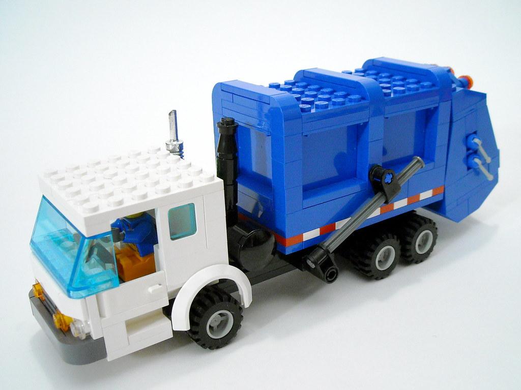 Lego Trash Truck Famous Truck 2018