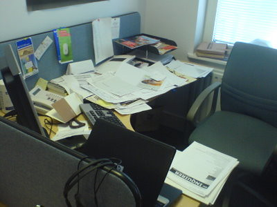 The messiest desk I have ever seen | by sliabh