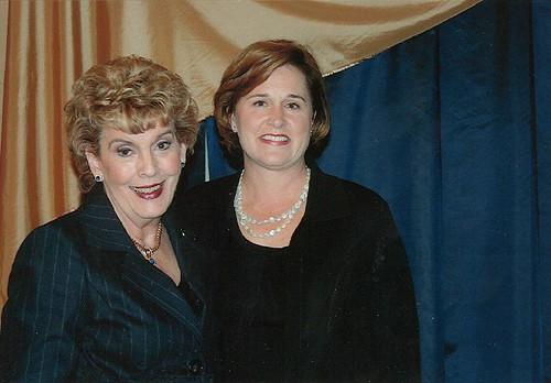 Doro Bush Koch With Network Member Yvonne Boice Doro