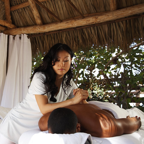 Outdoor Tiki Cabana Massage | by thepalmshotel