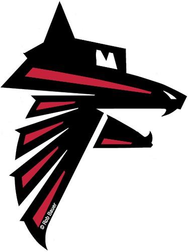 Atlanta Falcons Dog Bed