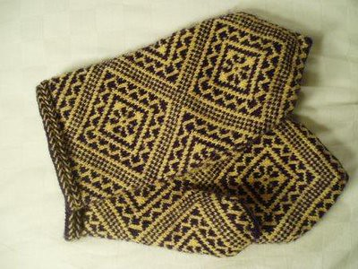 121205_yellow_latvian_mittens | by knittingem