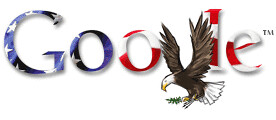Google July 4th | by rustybrick