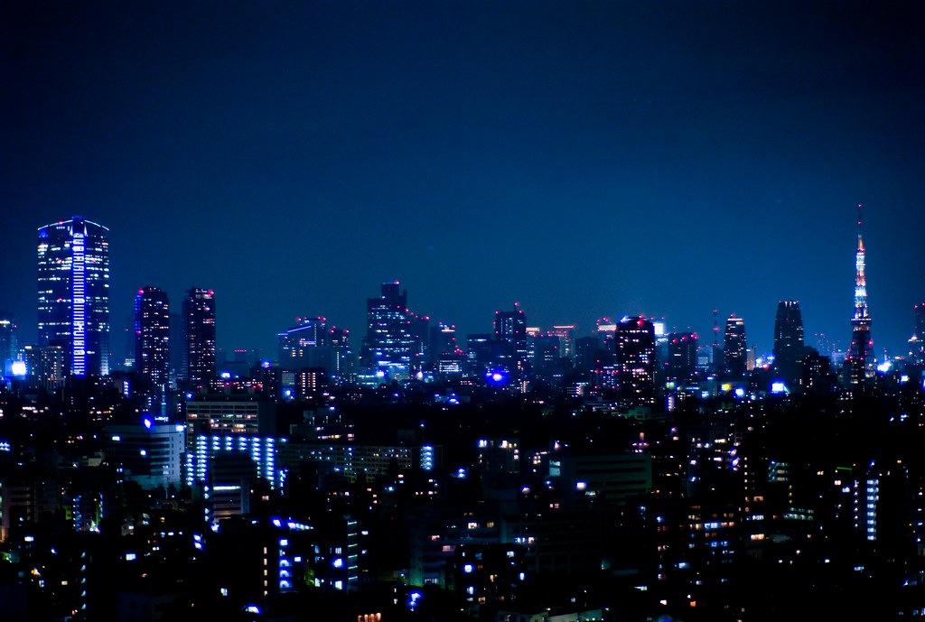 night view from westin tokyo view from westin tokyo in ebi flickr