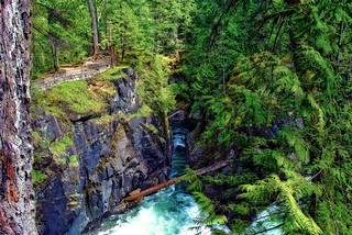 Little Qualicum Falls Provincial Park, Vancouver Island, British Columbia | by aarongunnar
