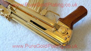Gold Plated AK-47 l | by PureGoldPlating