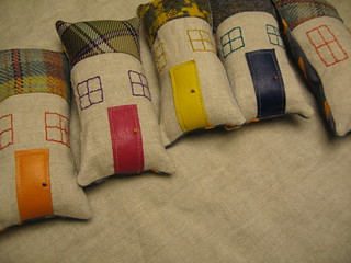 Little soft houses for little soft hands... | by Abigail / abigail*ryan homewares