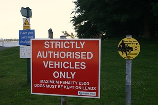 Strictly Authorised Vehicles Only | by Jasmic