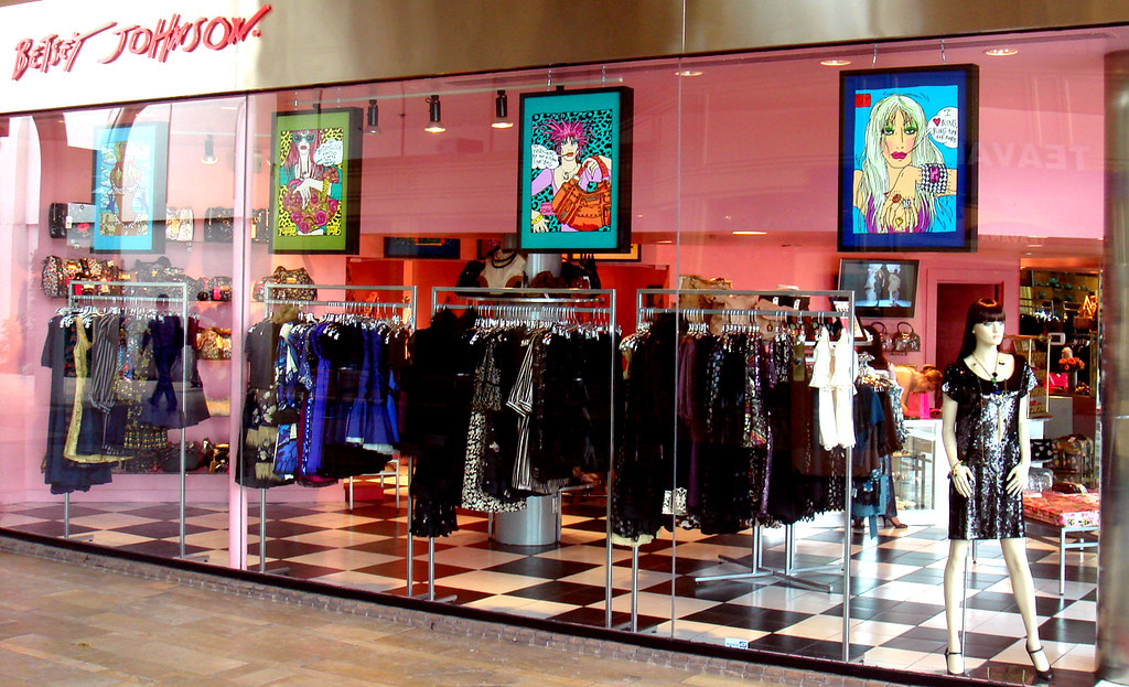 Betsey Johnson Store Front