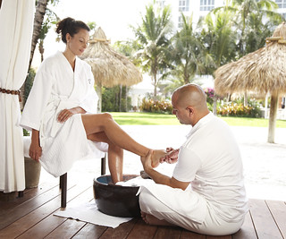 Outdoor Foot Ritual by The Palms Spa | by thepalmshotel