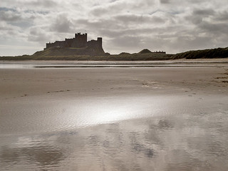 Shoreline at Bamburgh | by tricycledteenager