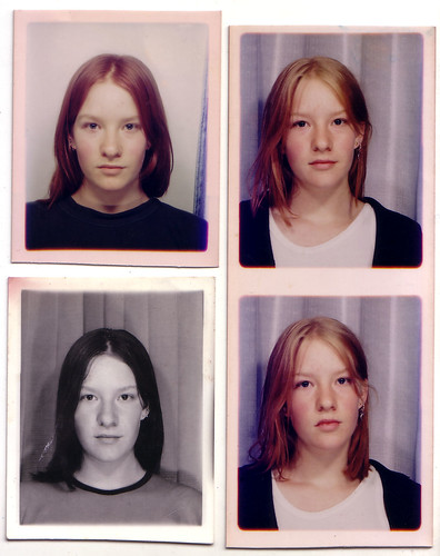 Passport photos at 15, 17, 18 | by becstarr