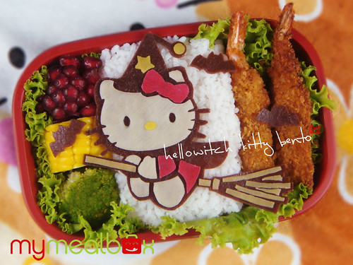 Hellowitch Kitty bento | by mymealbox