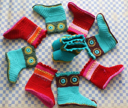 crochet boots | by Ingthings