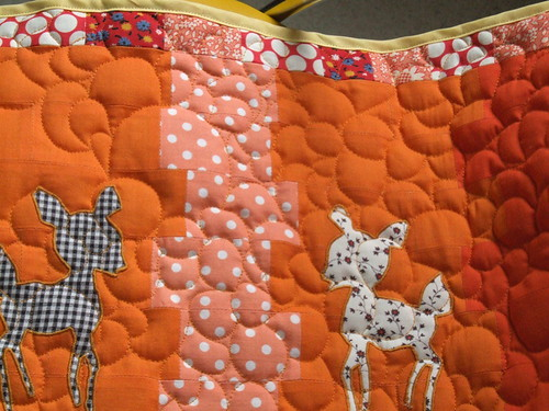 w.i.p. little deer doll quilt | by rabbitsmoon