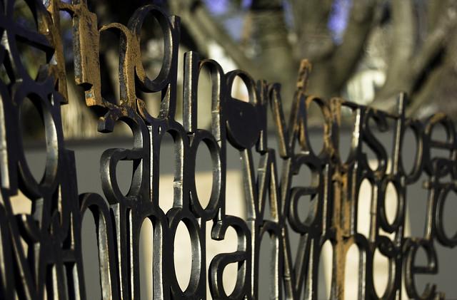 Dyslexia Fence