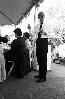 mike gives his toast | by visel