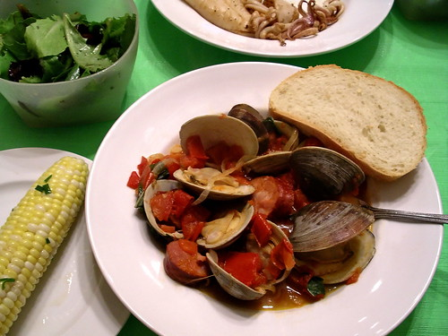 Clams and chorizo | by Blue Lotus