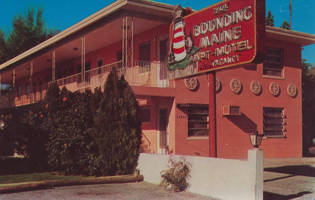 The Bounding Maine Apt. Motel - St. Petersburg, Florida
