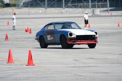 Project240z on first autocross run! | by chrishammond