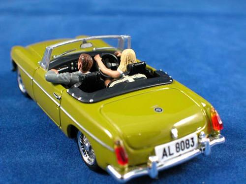 les voitures de james bond 007 mgb l 39 homme au pistolet flickr. Black Bedroom Furniture Sets. Home Design Ideas