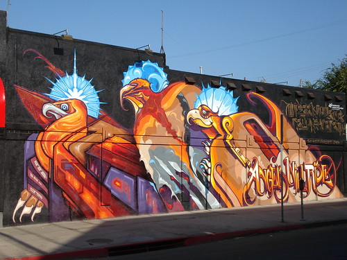 Retna Saber Revok SeventhLetter AWR MSK LosAngeles Graffiti Art | by anarchosyn