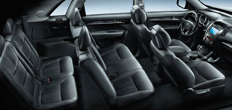 ... 2011 Kia Sorento Interior Seating Configuration | By KiaOfNewmarket.com