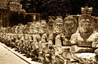 Heads of Kings and Heads of Buddhas | by Stuck in Customs