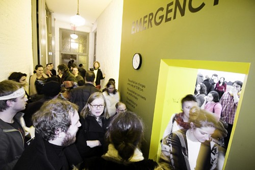 "ULTRACONTEMPORARY ART FORMAT""Emergency Room"" at PS1/ MOMA . New York 