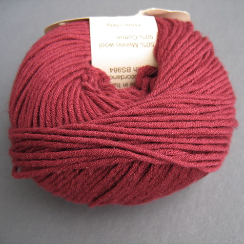 Debbie Bliss Wool/Cotton | by Spamily