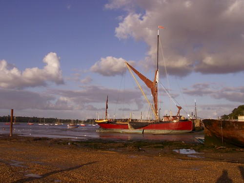 Boats on the River Orwell | by Mamluke