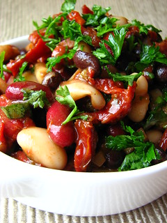 3-Bean Salad with Sundried Tomatoes | by britton618