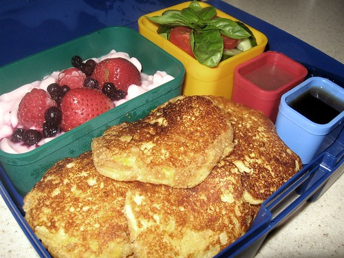 Corn Pancake Bento | by Jason + Amanda