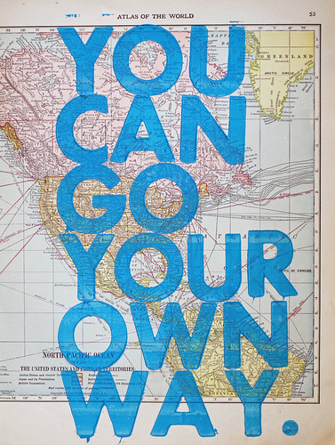you can go your own way | by Amy Rice