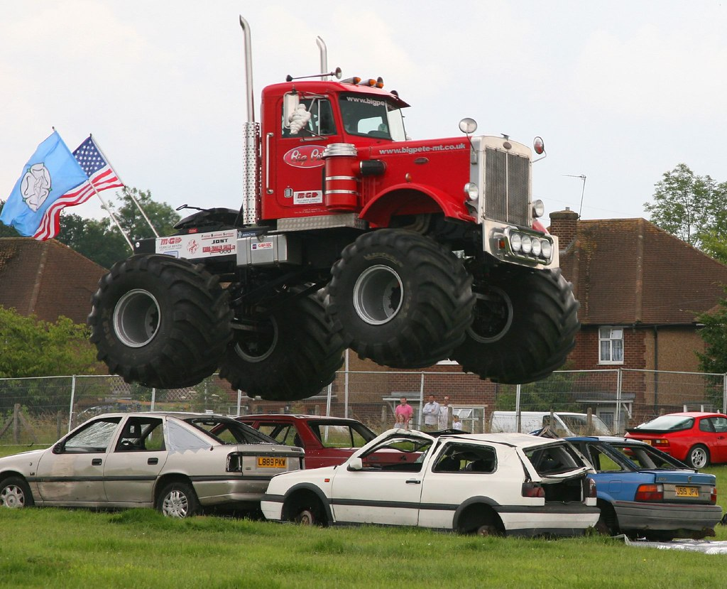 Flying Truck Big Pete Monster Truck Gordon Flickr