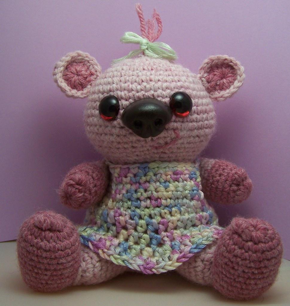 Sophie Bear Sitting free amigurumi crochet pattern | Flickr