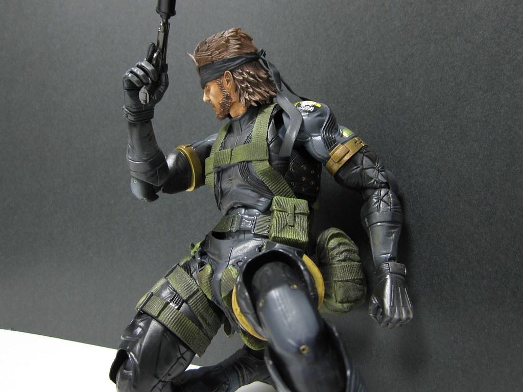 Metal Gear Solid Peace Walker Playarts Kai Snake Sneaking Flickr