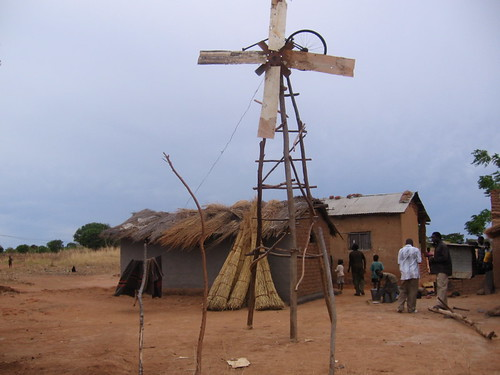 William Kamkwamba's old windmill | by whiteafrican