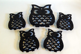 1970's Owl Coasters | by planetutopia