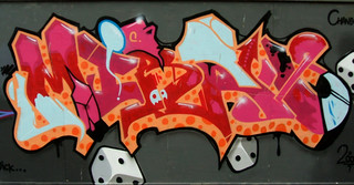 Graffiti Graffiti Art Painted On Construction Site