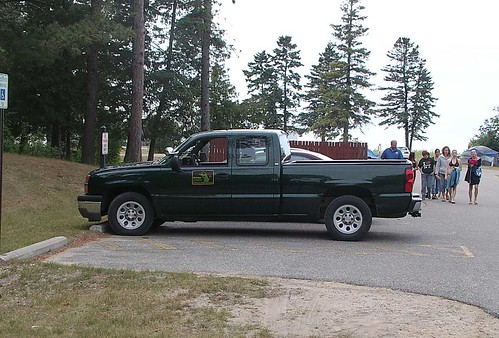 Smokey 2010 | Smokey Bear and the Park Ranger truck riding ...
