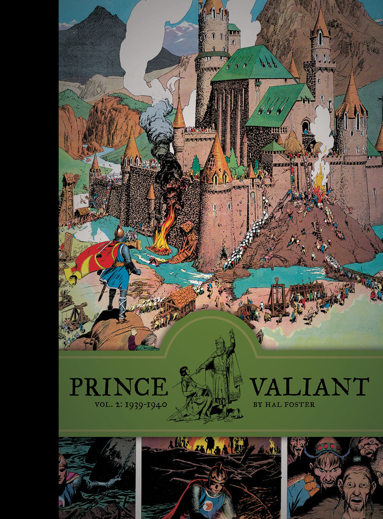 Prince Valiant Vol 2 1939 1940 By Hal Foster Flickr