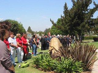 Crowd of Faculty, Staff, and Students at September 11th Memorial | by California State University Channel Islands