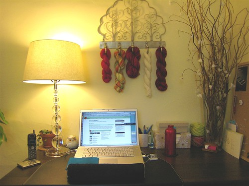 My New Desk- front | by Jessica MF
