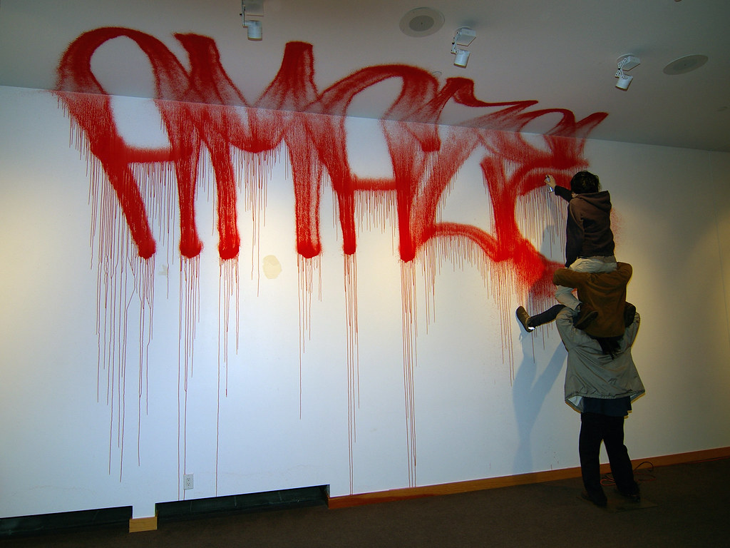 barry mcgee: advanced mature work @ the redcat | barry mcgee… | flickr