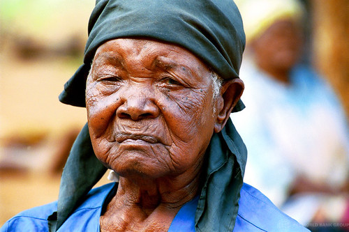 Portrait of elderly woman. Mozambique | by World Bank Photo Collection