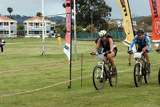 Lorna & Ruth finishing 100km-1 | by Louis Rossouw
