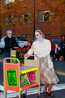 Missoula Public Librarians in the Dia de Los Muertos Parade, 2010 | by CT Young